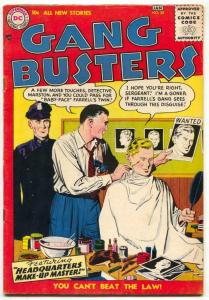 Gang Busters #55 1956- DC Silver Age FN