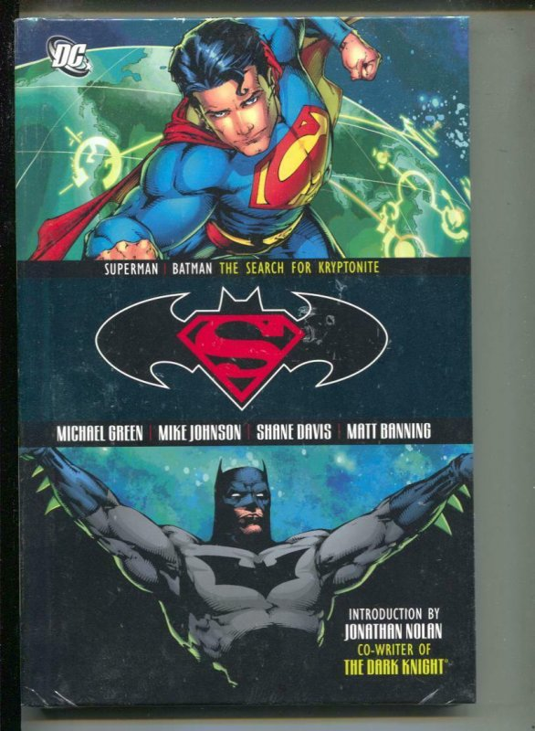 Superman & Batman: The Search For Kryptonite-Sealed-Hardcover