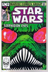 STAR WARS #64,  VF+, Luke Skywalker, Darth Vader, 1977, more SW in store