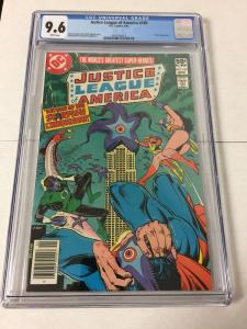 Justice League Of America 189 Cgc 9.6 White Pages