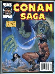 CONAN SAGA BARGAIN LOT OF 4 -MARVEL-STAN LEE-ISSUES #57-#58-#60-#61