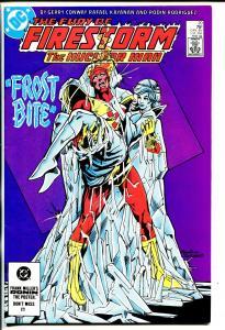 FIRESTORM #20 1984 DC-SIGNED-RAFAEL KAYANAN-vf