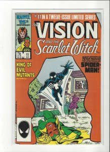 Vision and the Scarlet Witch (1985 series) 11 of 12 Spider-Man  VF/NM Marvel