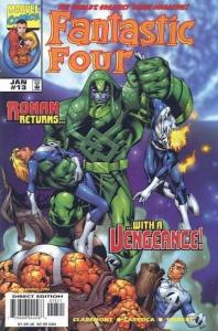 Fantastic Four (1998 series) #13, NM (Stock photo)