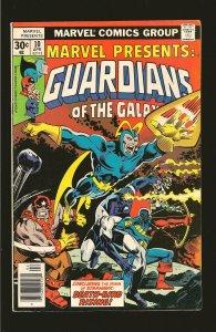 Marvel Comics Guardians Of The Galaxy Vol 1 No 10 April 1977