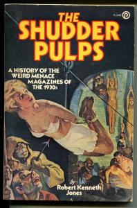 Shudder Pulps 1978-History of Weird Menace Pulps-R K Jones-Terror Tales-VF