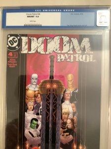DOOM PATROL #4 CGC 9.8 DC 2002