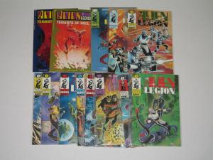 ALIEN LEGION LOT #1-11 + EXTRAS-EPIC COMICS LARRY STROMAN ART- VF