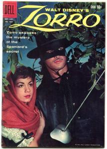 Four Color Comics #1037 1959- Zorro-Guy Williams cover- Dell Comic FN-