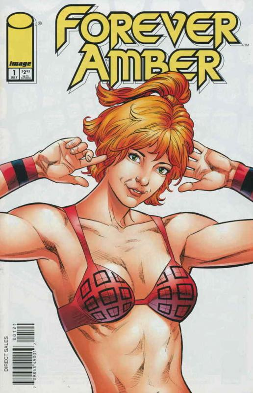 FOREVER AMBER #1, VF/NM, Don Hudson, Image, 1999, more in store