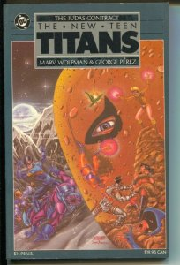 New Teen Titans: The Judas Contract-Marv Wolfman-1988-PB-VG/FN