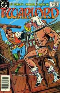Warlord (DC) #87 (Newsstand) VG; DC | low grade comic - save on shipping - detai