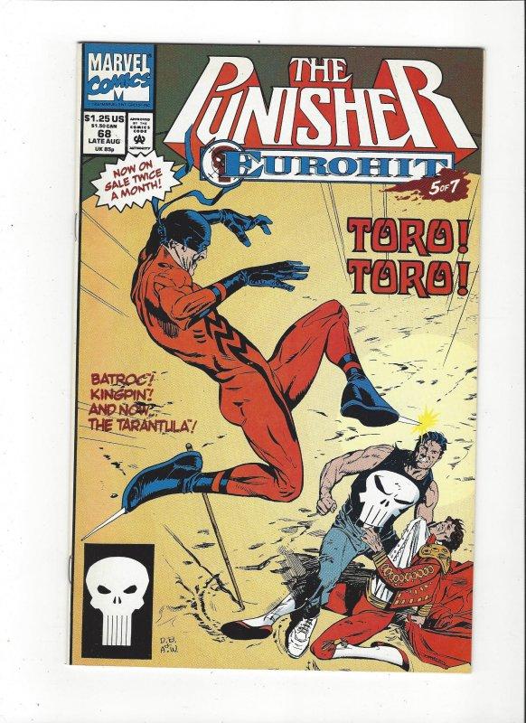 The Punisher #68 (1987)  Eurohit 5 of 7 Marvel Comics NM