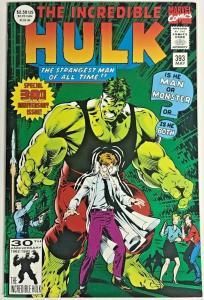 INCREDIBLE HULK#393 VF/NM 1992 MARVEL COMICS
