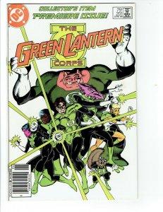 Green Lantern Corps #201 NM Newsstand - 1st appearance of Kilowog KEY