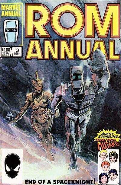 Rom (1979 series) Annual #3, Fine (Stock photo)