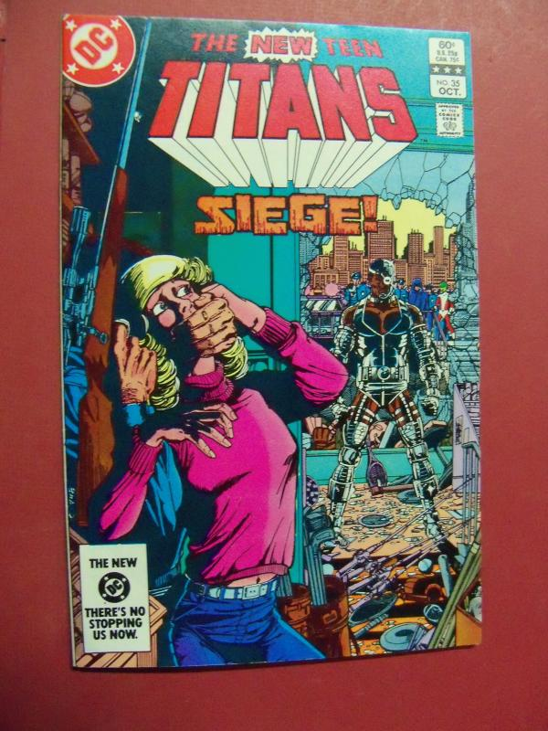 THE NEW TEEN TITANS  #35 VF/NM OR BETTER 1983 DC COMICS