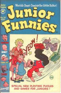 JUNIOR FUNNIES (1951-1952) 10 VF August 1951 COMICS BOOK