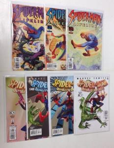 Spider-man Lifeline 1-3 Quality Of Life 1-4 Completr Near Mint Lot Set Run