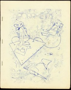 APORRHETA 1959 #8-GEORGE METZGER LETTER-FANZINE FN