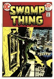 SWAMP THING #7-DC-BATMAN-1973-BERNI WRIGHTSON VF+