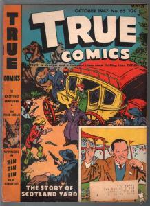 True #65 1947-Parents-Rin-Tin-Tin-Scotland Yard-Larry MacPhail-G+