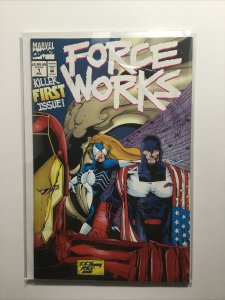 Force Works 1 2 Pair Near Mint Nm Marvel