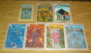 Concrete: Think Like A Mountain #1-6 VF/NM complete series + ashcan - chadwick