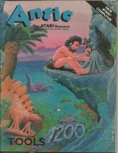 ORIGINAL Vintage Antic Atari Magazine Vol 1 #6 Feb/Mar 1983