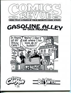 Comics Revue #132 1997-Moores-Gasoline Alley-Phantom-Modesty Blaise-VF