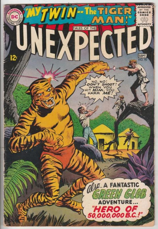 Tales of the Unexpected #90 (Sep-65) VG Affordable-Grade