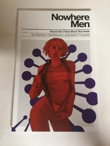 Nowhere Men Vol 1 Fates Worse Than Death Tpb Nm Near Mint Image Comics