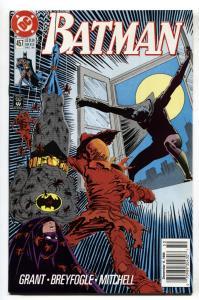 BATMAN #457 RARE BARCODE/DATE VARIANT-NEWSSTAND - 1990