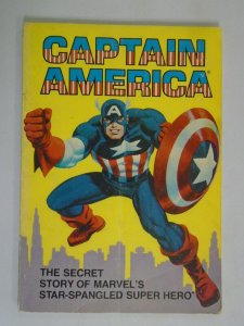 Captain America The Secret Story... TPB SC 4.0 VG Price tag on rear (1981 Ideal)