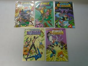 First Adventures set #1-5 8.0 VF (1985)