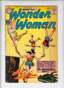 Wonder Woman #124 (Apr-61) VG- Affordable-Grade Wonder Woman