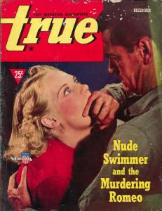 True 12/1940-terrified female-ghost rackets-Card Cheats-Trotsky-G/VG