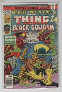 MARVEL TWO-IN-ONE (1974 MARVEL) #24 FN/VF A97077