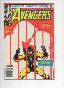 AVENGERS #224, VF, YellowJacket, Iron Man, 1963 1982, more Marvel in store