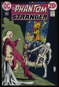 Phantom Stranger #24 VF/NM 9.0 White Pages DC Comics
