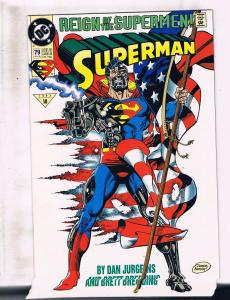 Lot of 5 Superman DC Comic Books #79 80 81 82 83 BH42