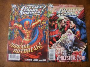 Justice League of America #3 #27 (DC) 2006 2009 Tornado Milestone Event