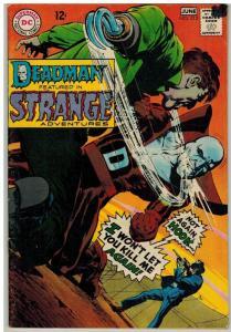 STRANGE ADVENTURES 212 VG June 1968  ADAMS DEADMAN