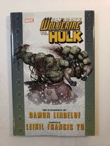 ULTIMATE WOLVERINE VS. THE HULK HARD COVER GRAPHIC NOVEL BRAND NEW CONDITION