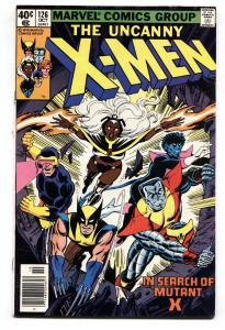 X-MEN #126 Wolverine - comic book MARVEL BRONZE AGE comic vf-