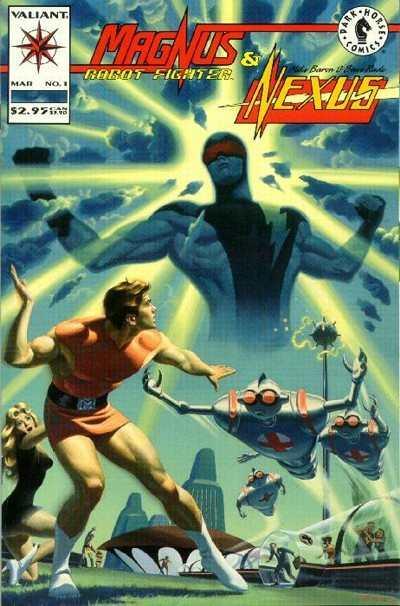 Magnus Robot Fighter/Nexus #1, NM + (Stock photo)