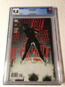 Catwoman 81 Cgc 9.8 White Pages Adam Hughes Cover Sexy Ah!