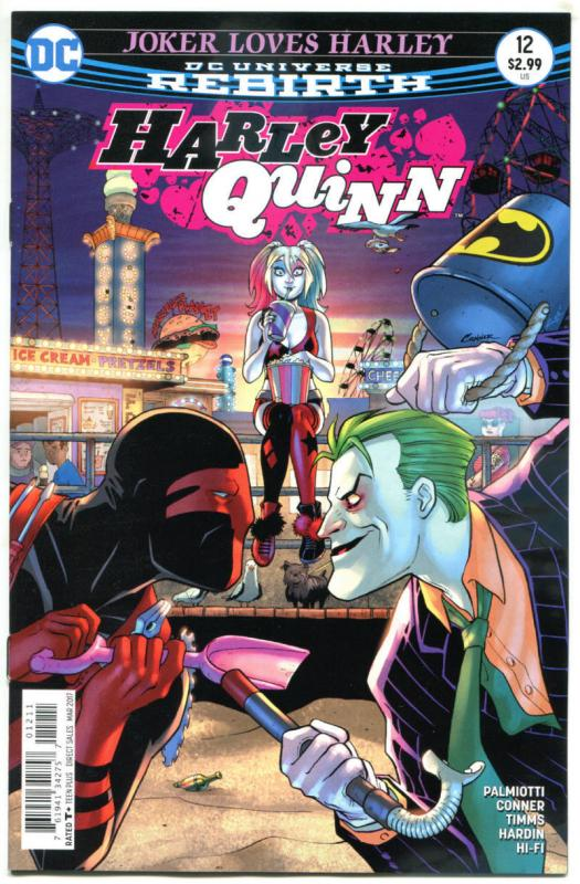 HARLEY QUINN #12, NM, Rebirth, Amanda Conner, Palmiotti, 2016,more HQ in store,A
