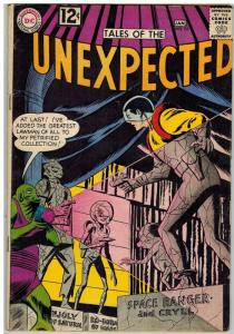 UNEXPECTED (TALES OF) 74 G-VG   January 1963 COMICS BOOK