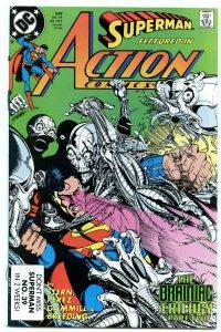 Action Comics 648 Dec 1989 NM- (9.2)